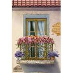Papel Decoupage Arte Francesa Litoarte AF-298 31,1x21,1cm Sacada Flores