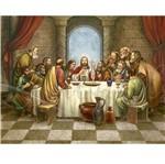 Papel Decoupage Arte Francesa Litoarte AFG-015 49,6X40,2cm Santa Ceia