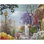 Papel Decoupage Arte Francesa Litoarte AFG-035 49,6X40,2cm Paisagem Jardim