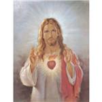 Papel Decoupage Arte Francesa Litoarte AFGG-008 45x62,5cm Sagrado Coração de Jesus