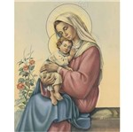 Papel Decoupage Arte Francesa Litoarte AFM-026 28x35cm Nossa Senhora Aparecida