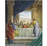 Papel Decoupage Arte Francesa Litoarte AFM-027 28x35cm Santa Ceia