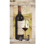 Papel Decoupage Arte Francesa Litoarte AFV-005 17,1x31,7cm Vinho Tinto com Palete