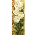 Papel Decoupage Arte Francesa Litoarte AFVE-003 22,8x62cm Tulipas I