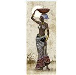 Papel Decoupage Arte Francesa Litoarte AFVM-055 17x42cm Angolana Pote na Cabeça