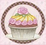 Papel Decoupage Arte Francesa Litoarte AFX-291 10x10cm Cupcake