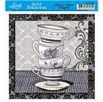 Papel Decoupage Arte Francesa Xícaras AFXV-004 - Litoarte
