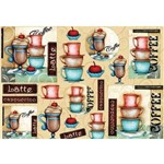 Papel Decoupage Coffee Ld-806 - Litocart