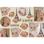 Papel Decoupage Grande Love - Ld-772 - Litocart