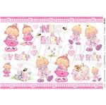Papel Decoupage Grande New Baby PD-029 Litoarte