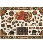 Papel Decoupage Litoarte PD-528 Chocolate - 50 X 34,3cm