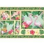 Papel Decoupage Litoarte PD 994 - Tropical - 50 X 34,3cm
