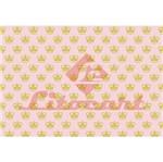 Papel Decoupage Litocart LD-826 34x48cm Coroa Fundo Rosa com Poá Branco
