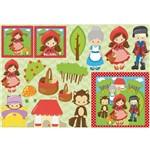 Papel Decoupage Litocart LD-929 34x48cm Menina com Chapéu Vermelho
