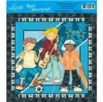 Papel Decoupage Quadrado D20-026 Litoarte