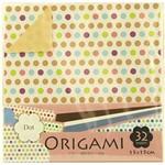 Papel Dobradura Origami Toyo Dot 015 X 015 Cm Dgo15-32d