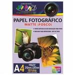 Papel Fotográfico A4 Matte Fosco 108g Off Paper 100 Folhas