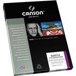 Papel Fotográfico Canson Baryta Photographique 310g A4 25Fls