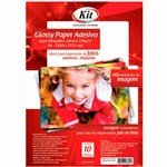 Papel Fotográfico Glossy Paper A4 135g 10 Folhas