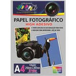 Papel Fotografico Inkjet A4 High Adesivo 135g