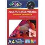Papel Fotografico Inkjet A4 Transparente Adesivo 150g Off Paper Cx.c/10