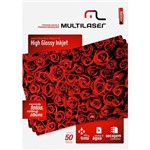 Papel Glossy A4 C/180 G/M² (50 Folhas) - Multilaser