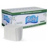 Papel Higiênico Baby Intercalado Folha Simples - Cx. C/ 10.000 Unidades