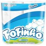 Papel Higienico Fofinho Fl Simples Neutro 30m Cia Canoinhas Fd.c/64