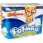 Papel Higiênico Fofinho Folha Simples L24P22 30m