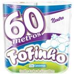 Papel Higienico Fofinho Fs 60mts Neutro 1caixa com 6 - 4