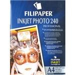 Papel Inkjet Photo A4 10f 180g 2571 Filiperson