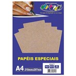 Papel Kraft A4 Madeira 180g Off Paper 50 Folhas