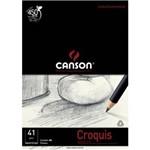 Papel Manteiga Canson Croquis A4 - 50 Folhas