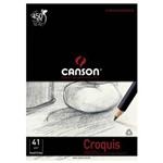 Papel Mateiga Croquis A4 Bl 50 Canson 41g