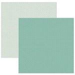 Papel P/ Scrapbook TEC Xadrez KSBC015 Verde 16419