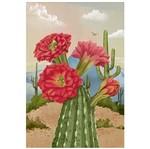 Papel para Arte Francesa Litoarte 31,1x21,1 AF-316 Cactos com Flores