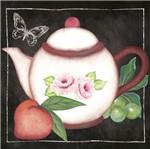 Papel para Arte Francesa Litoarte 10x10 AFX-384 Bule e Frutas