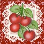 Papel para Arte Francesa Litoarte 10x10 AFX-385 Fruta