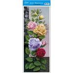 Papel para Arte Francesa Litoarte 17 X 42 Cm - Modelo Afvm-059 Rosas Coloridas