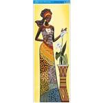Papel para Arte Francesa Litoarte 22,8 X 62 Cm - Modelo Afve-056 Angolana C/ Copos de Leite