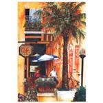 Papel para Arte Francesa Litocart 21 X 31 Cm - Modelo Lf-129 Café Bar