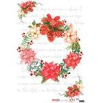 Papel para Decoupage de Natal Opa Opapel – 2541 – Guirlan