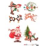Papel para Decoupage de Natal Opa Opapel – 2536 – Coletanea Nat