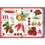 Papel para Decoupage Litoarte 49 X 34,3 Cm - Modelo Pd-015 Legumes
