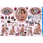 Papel para Decoupage Litoarte 49 X 34,3 Cm - Modelo Pd-747 Pin-Up e Make