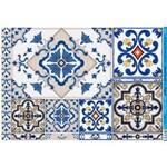 Papel para Decoupage Litoarte 49 X 34,3 Cm - Modelo Pd-859 Azulejos