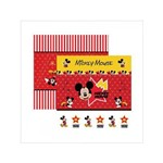 Papel para Scrapbook Mickey Mouse 1 Cenário e Bandeirolas