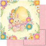 Papel para ScrapDecor SDP 005 Coelhas e Flores