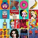 Papel Parede Adesivo Autocolante Azulejo Pop Art Colorido