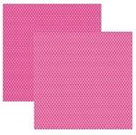 Papel Scrap Básico Pink Florzinha KFSB346 - Toke e Crie By Ivana Madi